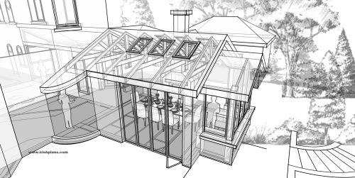house-extension-for-private-client-architectural-drawings-by-brendan-lennon-3-500x350 house extension for private client architects design