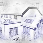36sq.ft-extension-to-existing-building-elevs-150x150 New openplan Kitchen, Dining, and Family room extension architects design
